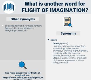 flight of imagination, synonym flight of imagination, another word for flight of imagination, words like flight of imagination, thesaurus flight of imagination