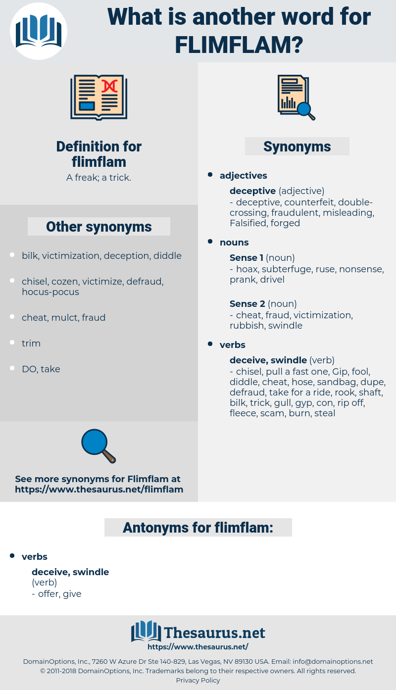 flimflam, synonym flimflam, another word for flimflam, words like flimflam, thesaurus flimflam