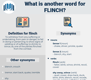 flinch, synonym flinch, another word for flinch, words like flinch, thesaurus flinch