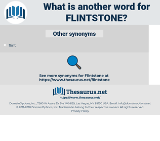 flintstone, synonym flintstone, another word for flintstone, words like flintstone, thesaurus flintstone