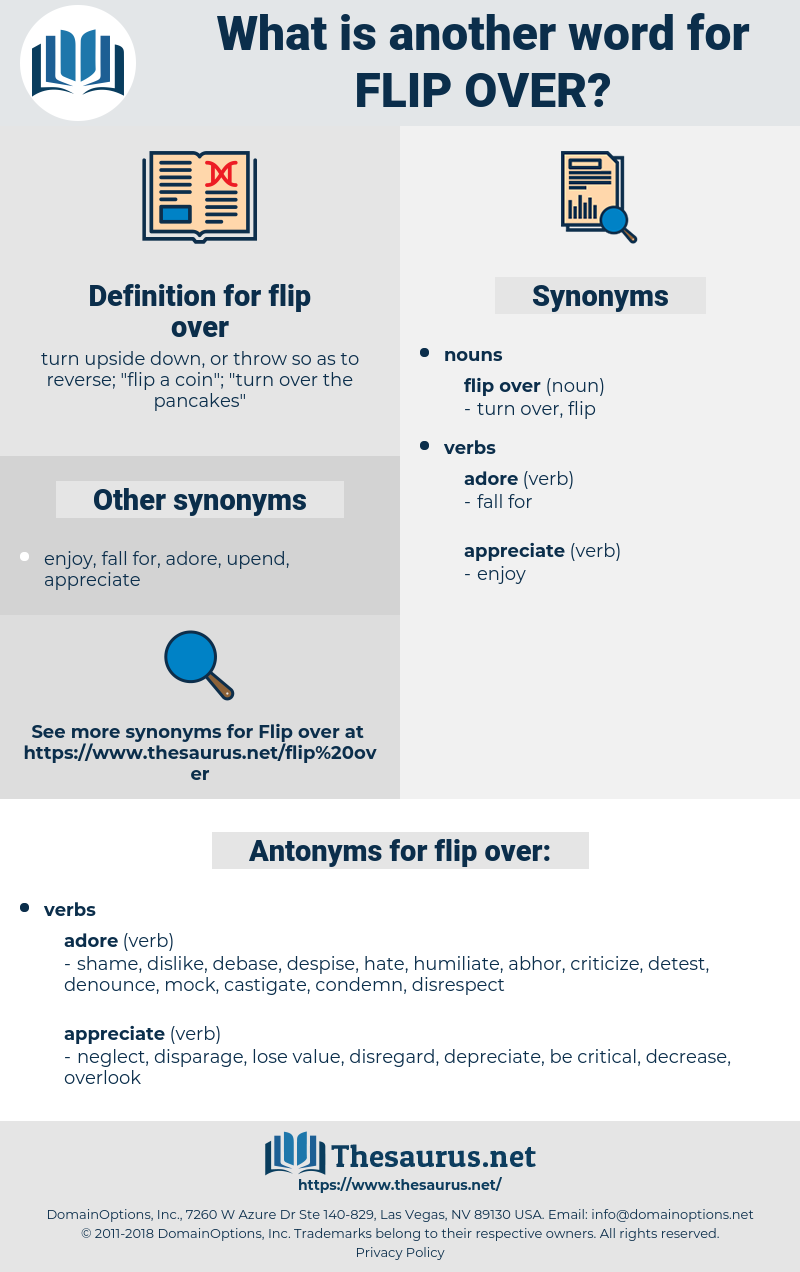flip over, synonym flip over, another word for flip over, words like flip over, thesaurus flip over