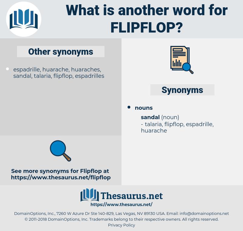 flipflop, synonym flipflop, another word for flipflop, words like flipflop, thesaurus flipflop