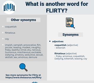 flirty, synonym flirty, another word for flirty, words like flirty, thesaurus flirty