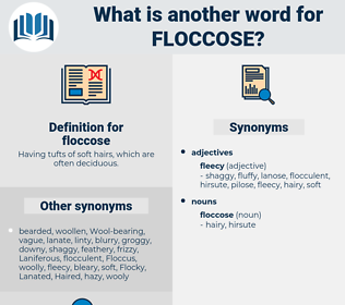 floccose, synonym floccose, another word for floccose, words like floccose, thesaurus floccose