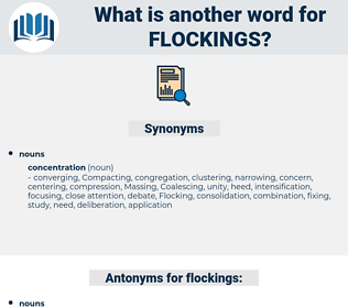 flockings, synonym flockings, another word for flockings, words like flockings, thesaurus flockings