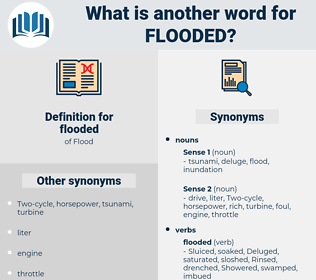 flooded, synonym flooded, another word for flooded, words like flooded, thesaurus flooded