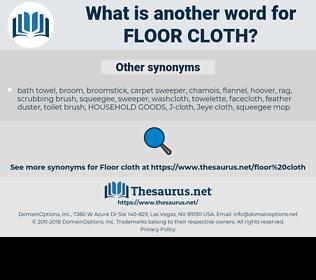 floor cloth, synonym floor cloth, another word for floor cloth, words like floor cloth, thesaurus floor cloth