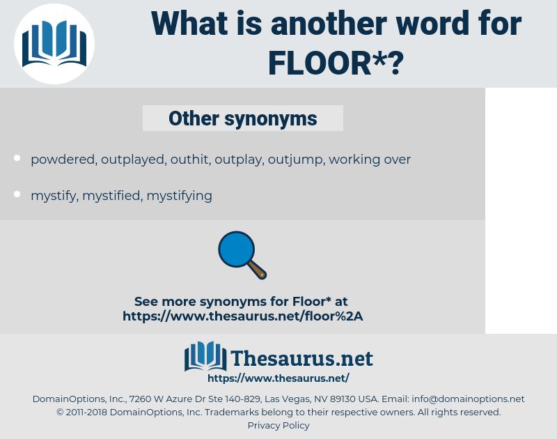 floor, synonym floor, another word for floor, words like floor, thesaurus floor