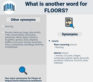 Floors, synonym Floors, another word for Floors, words like Floors, thesaurus Floors