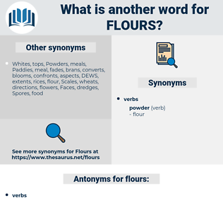 flours, synonym flours, another word for flours, words like flours, thesaurus flours