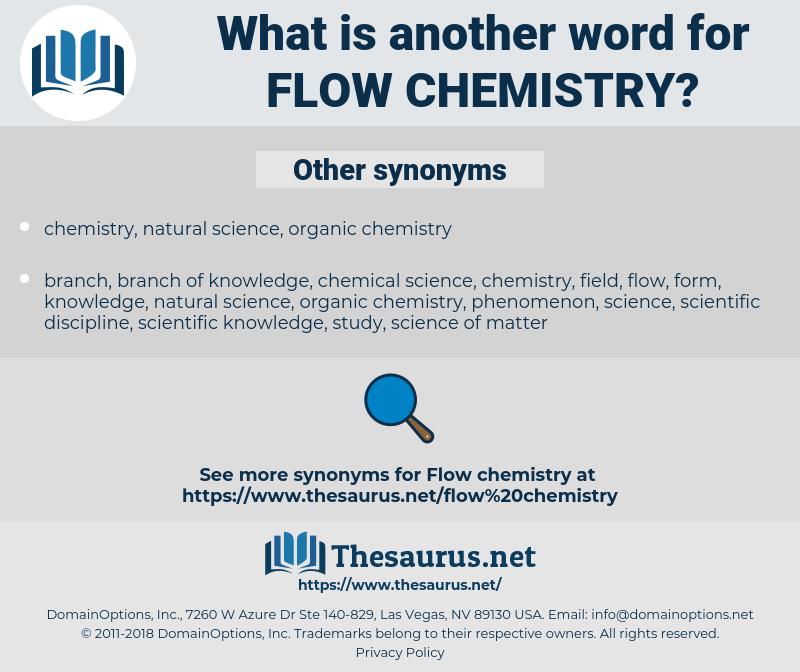 flow chemistry, synonym flow chemistry, another word for flow chemistry, words like flow chemistry, thesaurus flow chemistry