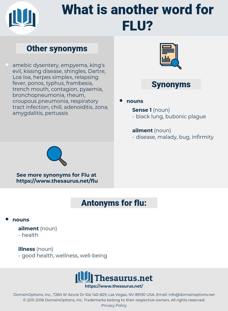 flu, synonym flu, another word for flu, words like flu, thesaurus flu