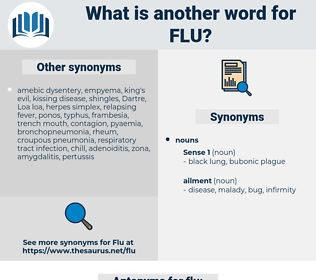 flu, synonym flu, another word for flu, words like flu, thesaurus flu