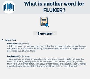 fluker, synonym fluker, another word for fluker, words like fluker, thesaurus fluker
