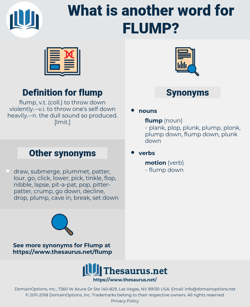 flump, synonym flump, another word for flump, words like flump, thesaurus flump