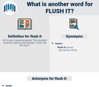 flush it, synonym flush it, another word for flush it, words like flush it, thesaurus flush it