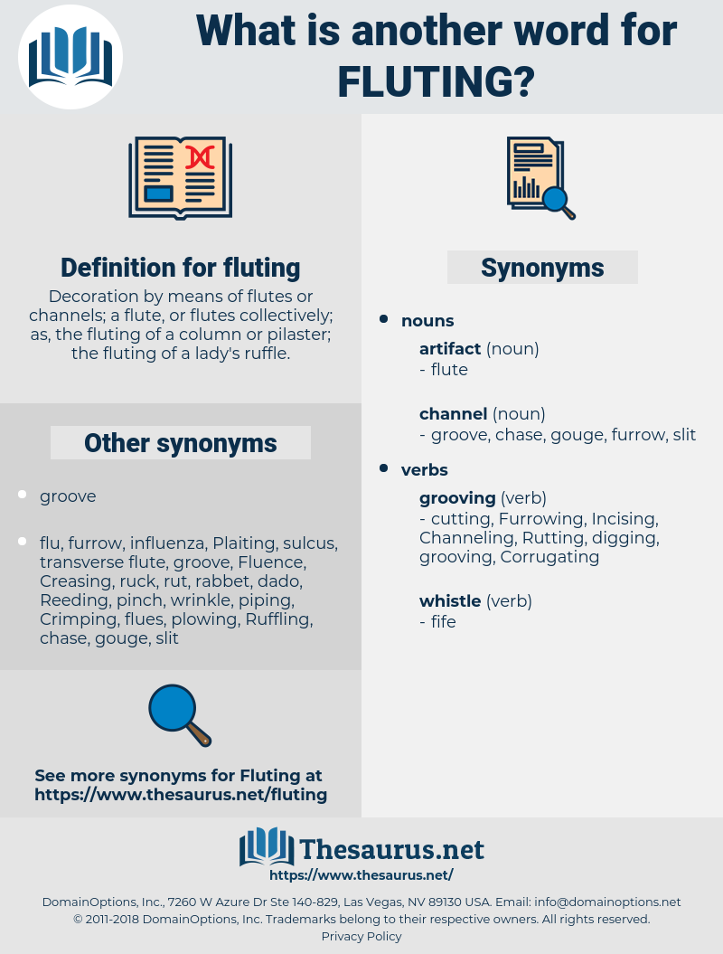fluting, synonym fluting, another word for fluting, words like fluting, thesaurus fluting