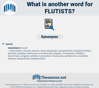 flutists, synonym flutists, another word for flutists, words like flutists, thesaurus flutists