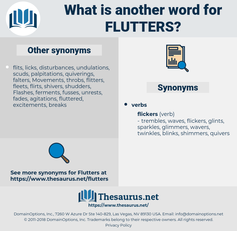flutters, synonym flutters, another word for flutters, words like flutters, thesaurus flutters