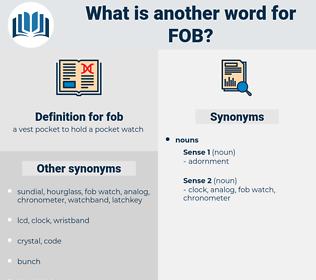fob, synonym fob, another word for fob, words like fob, thesaurus fob