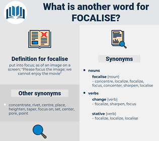 focalise, synonym focalise, another word for focalise, words like focalise, thesaurus focalise