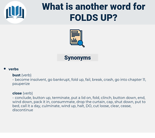 folds up, synonym folds up, another word for folds up, words like folds up, thesaurus folds up