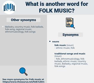 folk music, synonym folk music, another word for folk music, words like folk music, thesaurus folk music