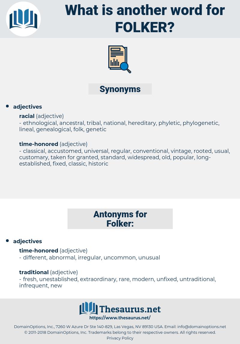 Folker, synonym Folker, another word for Folker, words like Folker, thesaurus Folker