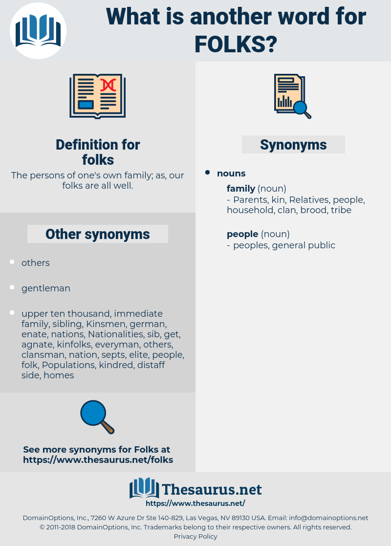 folks, synonym folks, another word for folks, words like folks, thesaurus folks