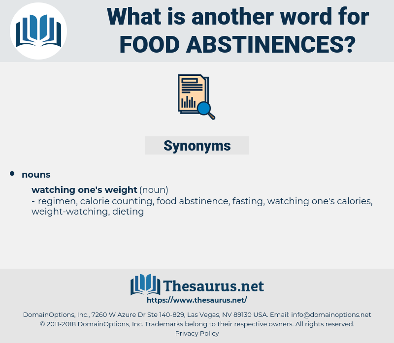 food abstinences, synonym food abstinences, another word for food abstinences, words like food abstinences, thesaurus food abstinences