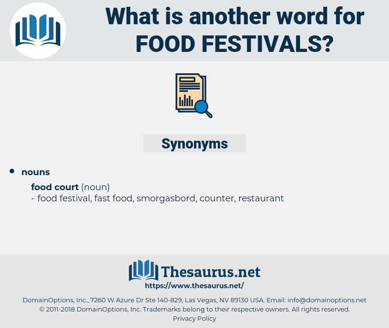 food festivals, synonym food festivals, another word for food festivals, words like food festivals, thesaurus food festivals