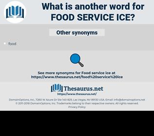 food service ice, synonym food service ice, another word for food service ice, words like food service ice, thesaurus food service ice