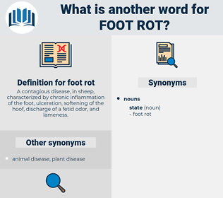 foot rot, synonym foot rot, another word for foot rot, words like foot rot, thesaurus foot rot