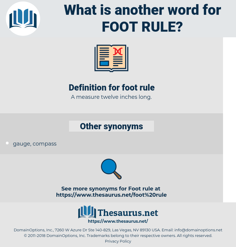 foot rule, synonym foot rule, another word for foot rule, words like foot rule, thesaurus foot rule