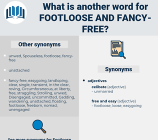 footloose and fancy free, synonym footloose and fancy free, another word for footloose and fancy free, words like footloose and fancy free, thesaurus footloose and fancy free