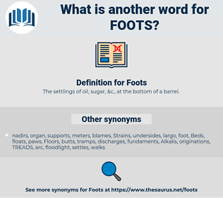 Foots, synonym Foots, another word for Foots, words like Foots, thesaurus Foots