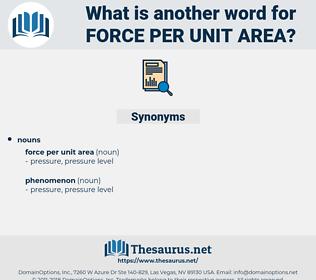 force per unit area, synonym force per unit area, another word for force per unit area, words like force per unit area, thesaurus force per unit area