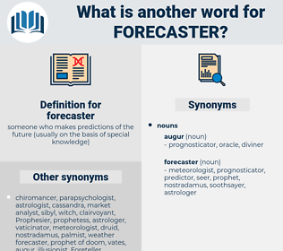 forecaster, synonym forecaster, another word for forecaster, words like forecaster, thesaurus forecaster