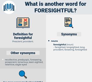 foresightful, synonym foresightful, another word for foresightful, words like foresightful, thesaurus foresightful