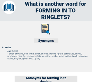 forming in to ringlets, synonym forming in to ringlets, another word for forming in to ringlets, words like forming in to ringlets, thesaurus forming in to ringlets