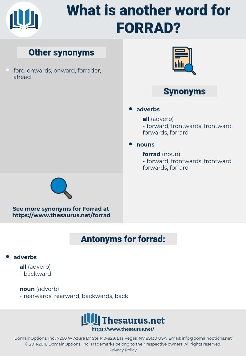 forrad, synonym forrad, another word for forrad, words like forrad, thesaurus forrad