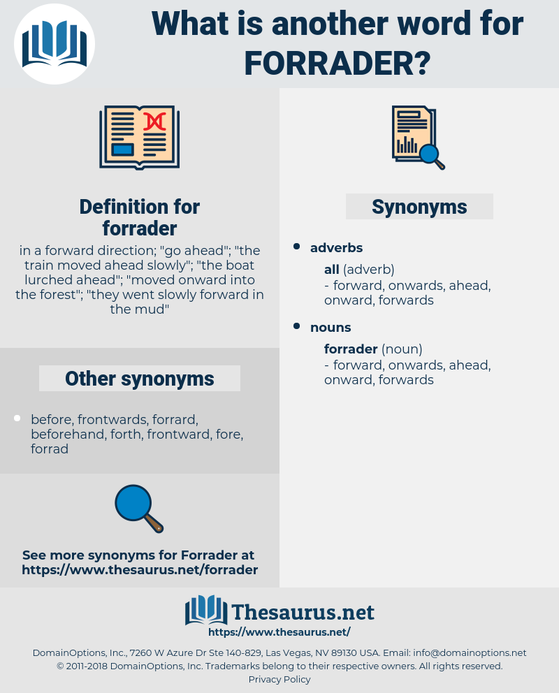 forrader, synonym forrader, another word for forrader, words like forrader, thesaurus forrader