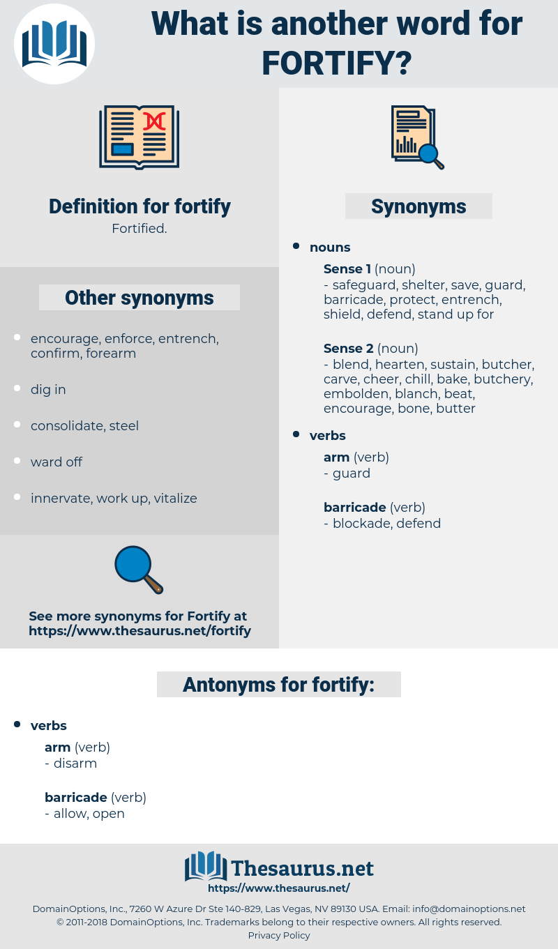 fortify, synonym fortify, another word for fortify, words like fortify, thesaurus fortify