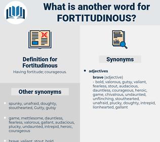 Fortitudinous, synonym Fortitudinous, another word for Fortitudinous, words like Fortitudinous, thesaurus Fortitudinous