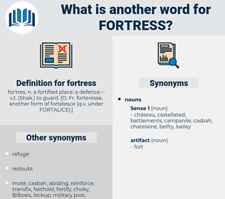 fortress, synonym fortress, another word for fortress, words like fortress, thesaurus fortress