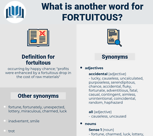 fortuitous, synonym fortuitous, another word for fortuitous, words like fortuitous, thesaurus fortuitous