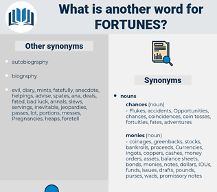 fortunes, synonym fortunes, another word for fortunes, words like fortunes, thesaurus fortunes
