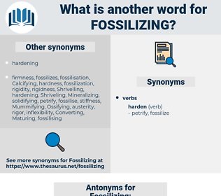 Fossilizing, synonym Fossilizing, another word for Fossilizing, words like Fossilizing, thesaurus Fossilizing