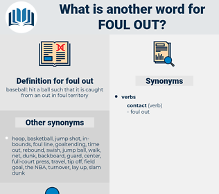 foul out, synonym foul out, another word for foul out, words like foul out, thesaurus foul out