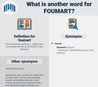 foumart, synonym foumart, another word for foumart, words like foumart, thesaurus foumart